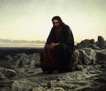 I.N.Kramskoi, Christus in der Wueste von AKG  Images