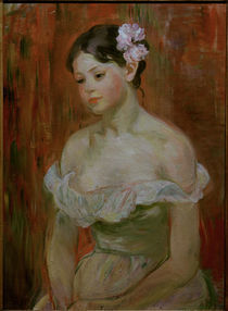 B.Morisot, Maedchen mit Dekollete von AKG  Images