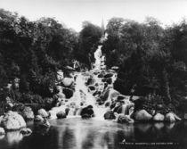 Berlin,Wasserfall im Viktoriapark/Levy von AKG  Images