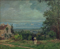 C.Pissarro, Landschaft bei Louveciennes by AKG  Images