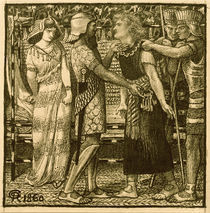 D.G.Rossetti, Joseph vor Potiphar by AKG  Images