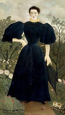 Rousseau,H./ Portrait de femme/ 1895-97 von AKG  Images