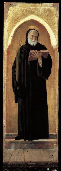 A.Mantegna, Hl.Benedikt von Nursia by AKG  Images