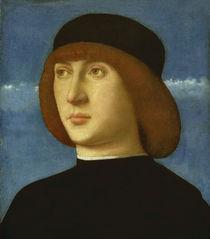 G.Bellini, Bildnis eines jungen Mannes by AKG  Images