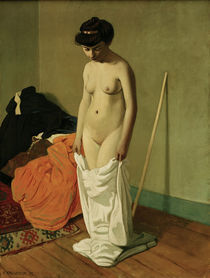 F.Vallotton, Stehender Akt... by AKG  Images