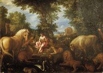 Jan Brueghel d.Ae., Orpheus und die Tiere von AKG  Images