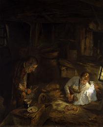 Fritz von Uhde, In der Heiligen Nacht by AKG  Images
