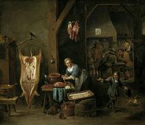 D.Teniers d.J., Das Wurstmache by AKG  Images
