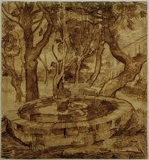 v.Gogh, Springbrunnen der Heilanstalt by AKG  Images