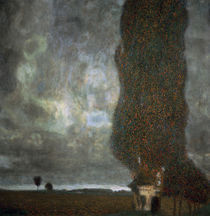 Gustav Klimt, Die Grosse Pappel II von AKG  Images