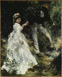 A.Renoir / La Promenade/ 1870 by AKG  Images