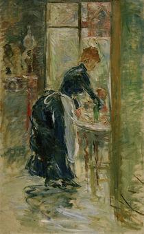 B.Morisot, Das kleine Dienstmaedchen by AKG  Images