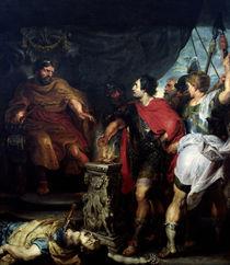 Rubens und van Dyck, Mucius Scaevola by AKG  Images