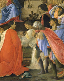 S.Botticelli, Anbetung der Koenige, Det. by AKG  Images