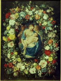 J.Bruegel d.Ae.u.Procaccini,Blumenkranz.. von AKG  Images
