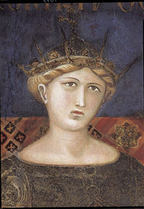 A.Lorenzetti, Fortitudo (Kopf) by AKG  Images