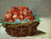 Edouard Manet, Erdbeerkorb by AKG  Images
