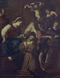 Guercino, Vision der Hl.Klara by AKG  Images