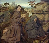 J.v.Eyck,Stigmatisierung d.hl.Franziskus by AKG  Images