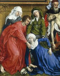 Rogier v.d.Weyden, Kreuzabnahme, Aussch. by AKG  Images