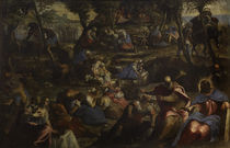 Tintoretto, Mannalese by AKG  Images