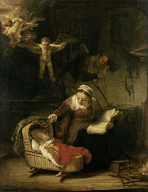 Rembrandt, Hl. Familie by AKG  Images