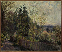 Alfred Sisley/ Waldweg/ 1878 by AKG  Images