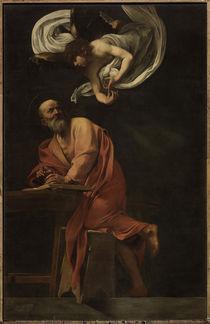 Caravaggio, Inspiration des Matthaeus von AKG  Images