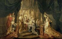 P.P.Rubens, Maria erscheint Ildefonso by AKG  Images