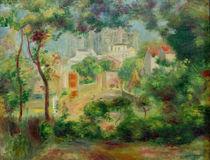 A.Renoir, Gaerten von Montmartre von AKG  Images