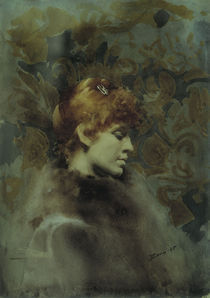 Anders Zorn, Bildnis Miss Law von AKG  Images
