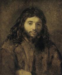 Rembrandt, Christuskopf von AKG  Images