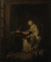 J.B.S.Chardin, Das Haushaltungsbuch von AKG  Images