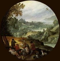 J.Brueghel d.Ae./ Die Ernte/ um 1594 by AKG  Images