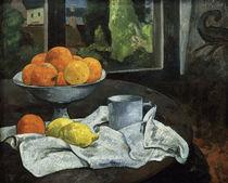 Gauguin, Oranges et citrons avec vue... von AKG  Images