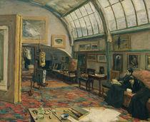 M.Liebermann, Atelier des Kuenstlers von AKG  Images