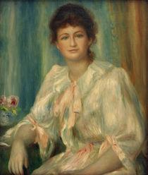 A.Renoir, Portraet einer jungen Frau von AKG  Images