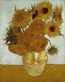 V.van Gogh, Zwoelf Sonnenblumen in Vase by AKG  Images