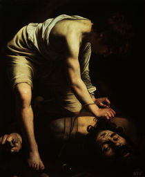 Caravaggio, David besiegt Goliath von AKG  Images