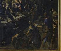 Tintoretto, Abendmahl, Ausschnitt von AKG  Images