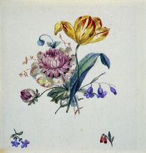 G.F.Kersting/Blumenbukett mit Tulpe/1825 von AKG  Images