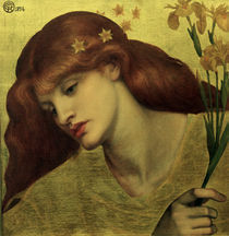 D.G.Rossetti, Sancta Lilias by AKG  Images