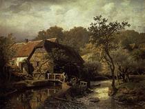 A.Achenbach,Westfaelische Wassermuehle1863 by AKG  Images