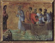 Duccio, Erscheinung Christi am See Tib. von AKG  Images
