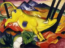 Franz Marc, Die gelbe Kuh/1911 von AKG  Images