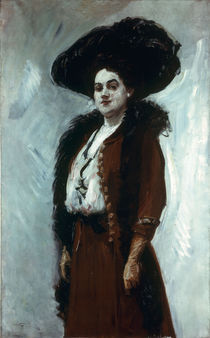 Slevogt, Damenbildnis/ 1908 von AKG  Images