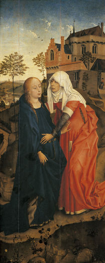 Rogier v.d.Weyden, Heimsuchung von AKG  Images