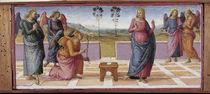 Perugino, Verkuendigung an Maria von AKG  Images