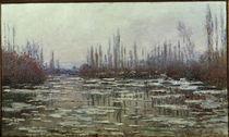 C.Monet, Eisbruch von AKG  Images