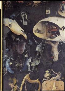 Bosch, Garten der Lueste, Hoelle, Ausschn. von AKG  Images